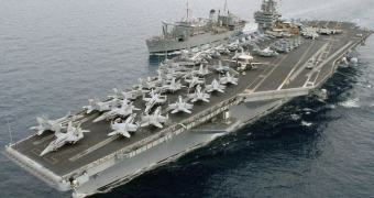 Irã destrói um porta-aviões americano (ok, não exatamente)