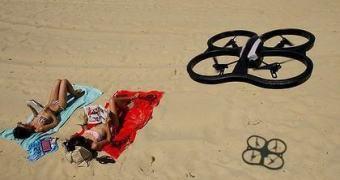 Drones salva-vidas ou Skynet fazendo RP?