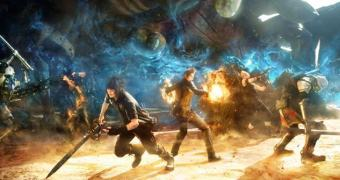 Final Fantasy XV, mas pode chamar de Clube do Bolinha