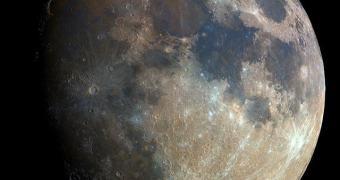 Super foto da Lua feita por um astrônomo amador