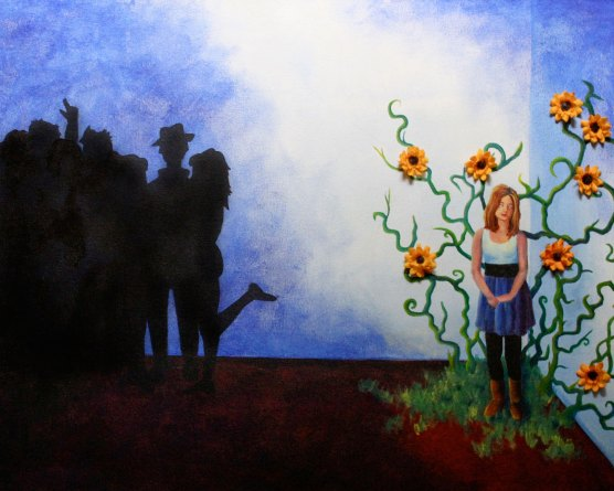 Mel Barrett Art Wall Flower