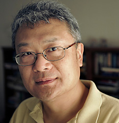 Chinese born author Ha Jin.