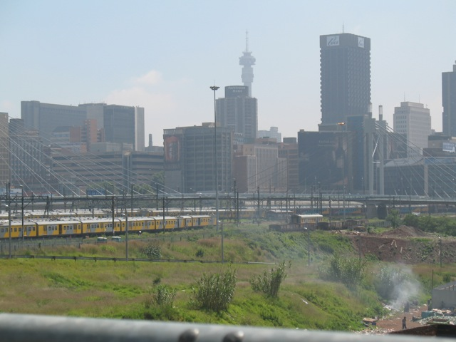 Johannesburg, one of the World Cup host cities