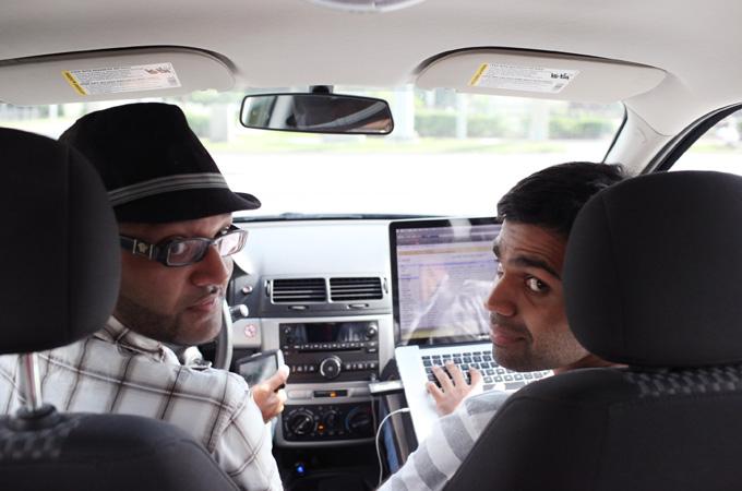 Aman Ali and Bassam Tariq, on their 30 mosques road trip.