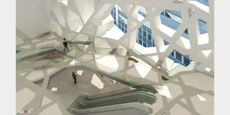 Proposed interior of Park 51 Islamic Center, NYC