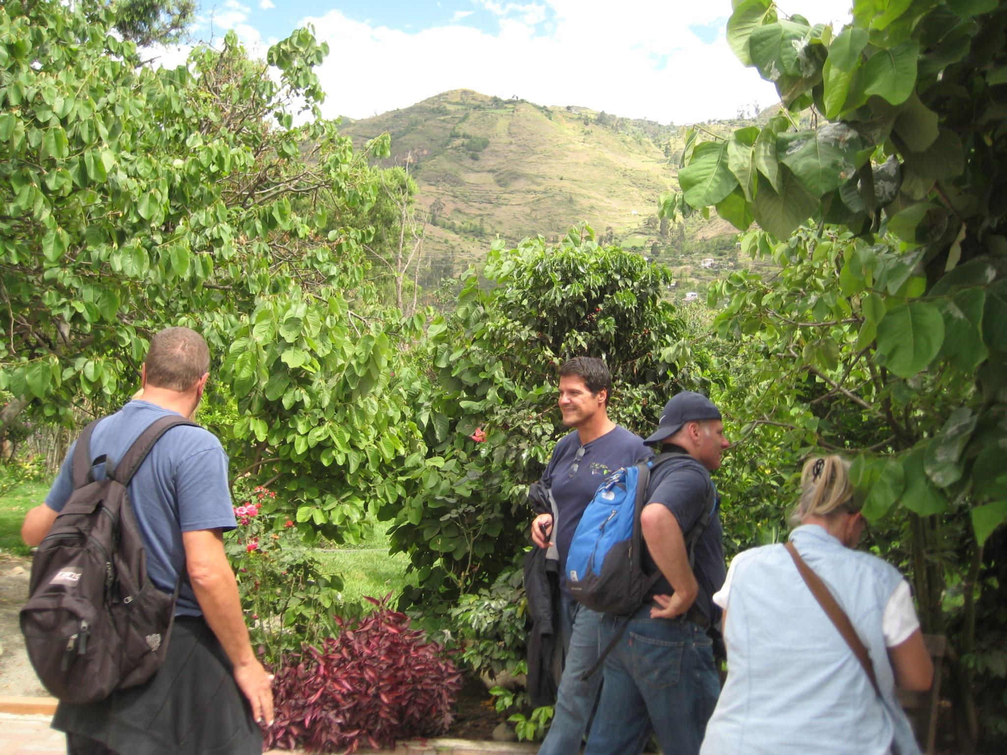 "Some ""gringo"" friends on a day trip to Paute, Ecuador."