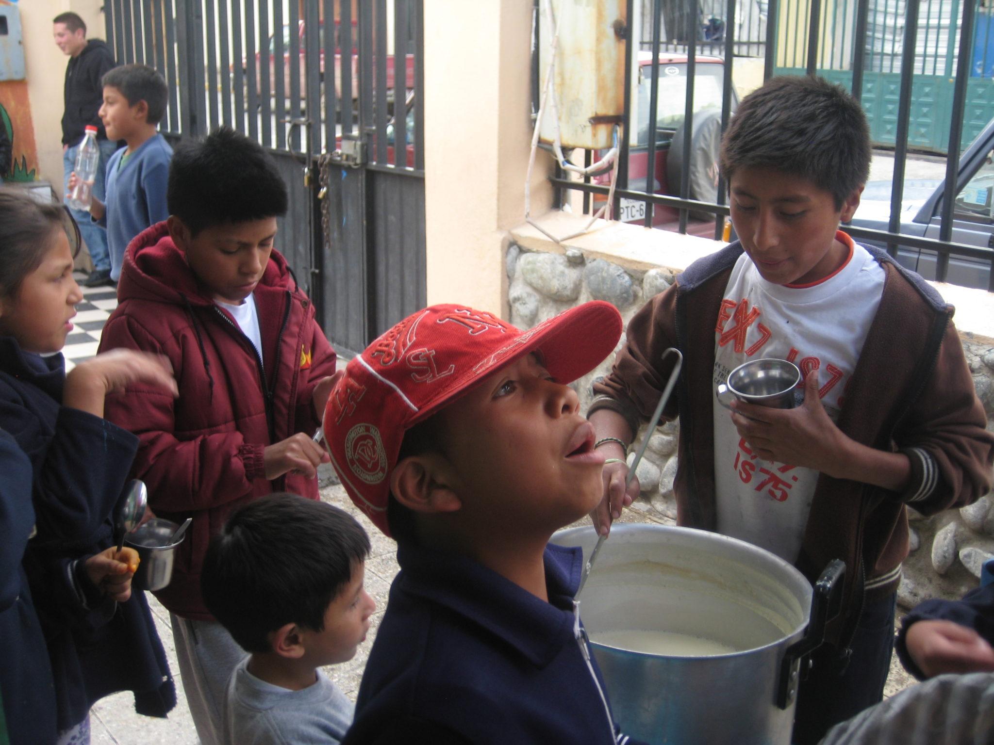 Some of the children that I met volunteering.