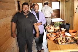 Michael Twitty and Dr. Henry Louis Gates