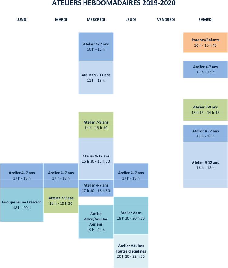 Planning Chapiteau
