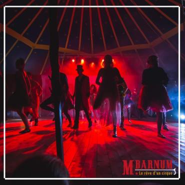 Monsieur Barnum Le Cirque Musical