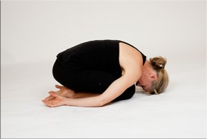 yin yoga flexion