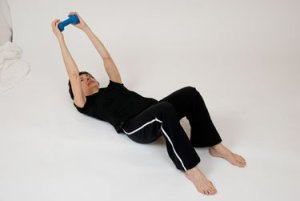 Video: Triceps Extension from Floor Beginner Exercise