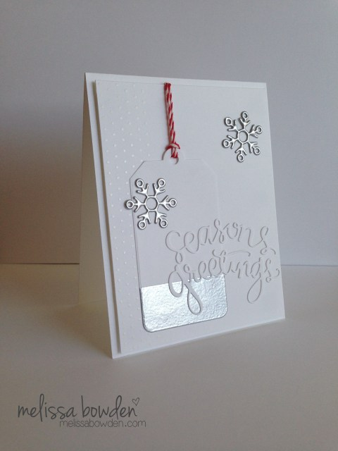 Seasons Greetings Card- Melissa Bowden