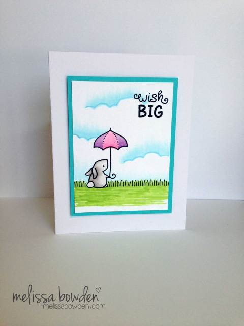 Wish Big Card- Melissa Bowden