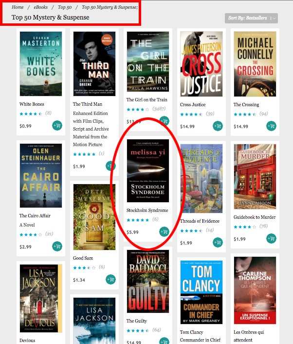 #8 IN MYSTERY! highlighted