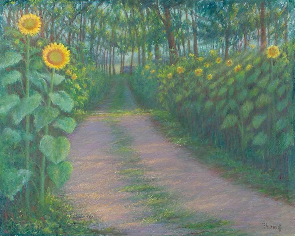 236-sunflower-path-landscape-painting-griswald-ct-farm-960w
