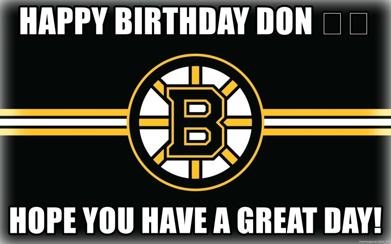 Large Of Happy Birthday Don