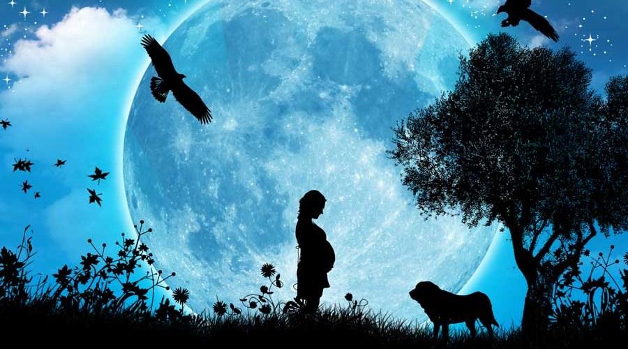 grossesse et lune
