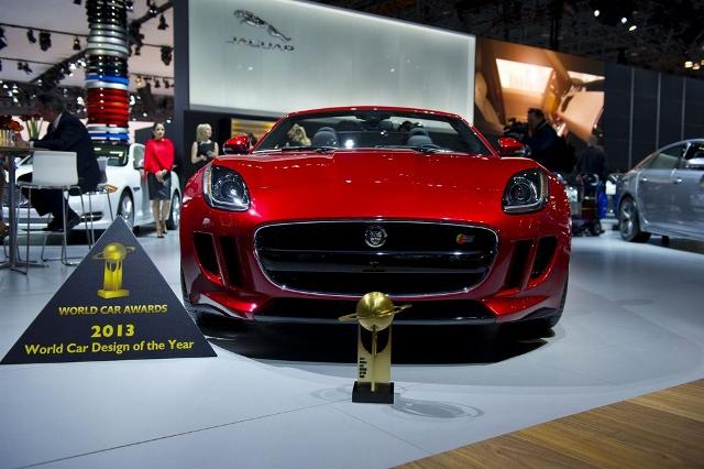 Jaguar F-Type, Mejor Diseño del Año en NY