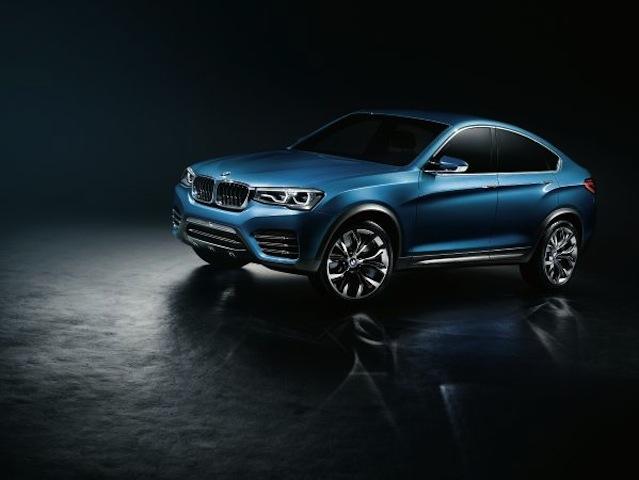 El BMW X4 Concept