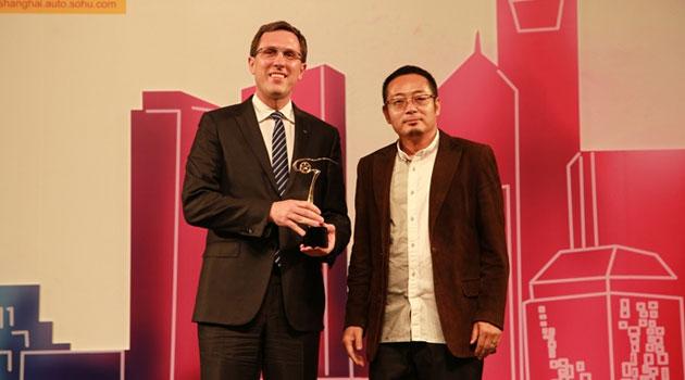 """Infiniti Q50 nombrado """"Mejor revelación china"""" en el Autoshow de Shanghái"""