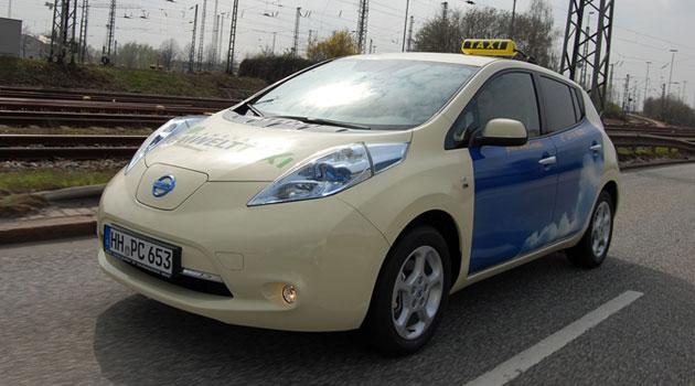 Nissan LEAF reforma el negocio de los taxis