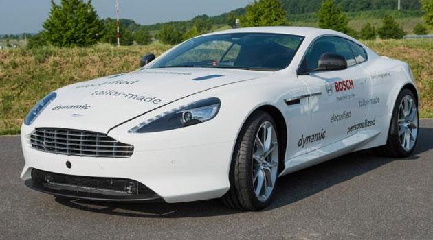 Aston Martin DB9 híbrido