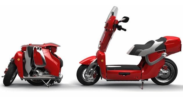 Xor XO2 un scooter eléctrico y plegable