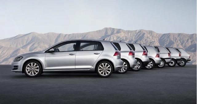 Volkswagen celebra 30 millones de Golf