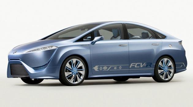 El Toyota alimentado por hidrógeno llegará en 2014