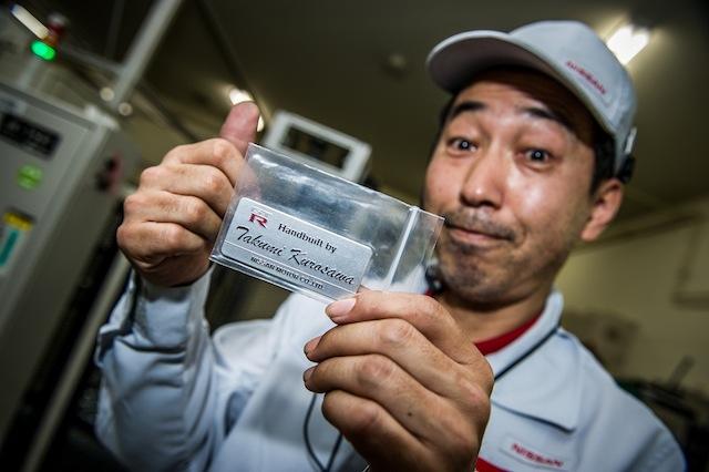 Nissan y Takumi: Un maestro artesano detrás de cada GT-R