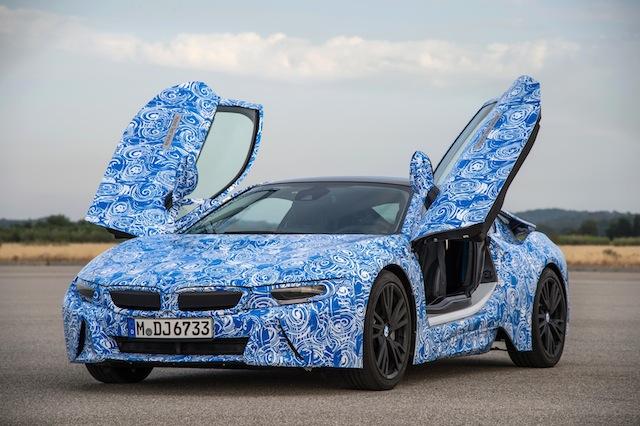BMW i8, lo mejor de dos mundos
