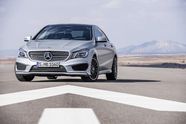 Mercedes-Benz CLa 250 sport edition 1