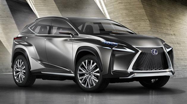 Lexus LF-NX, ¡agresivo no, lo que sigue!