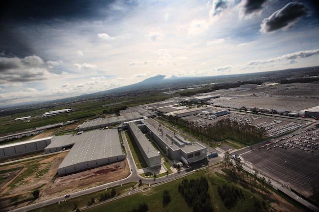 La planta de Volkswagen de México en Puebla, número uno en Norteamérica