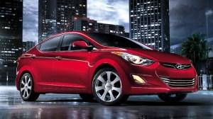 2013 Hyundai Elantra Red