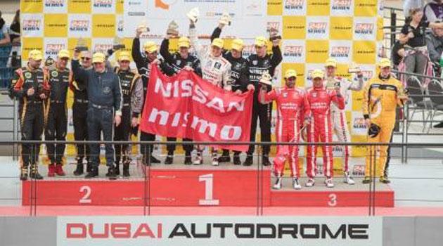 Atletas NISMO obtienen victoria en Dubái