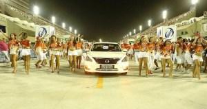 Carnaval de Brasil y Nissan