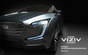 Subaru Viziv 2013