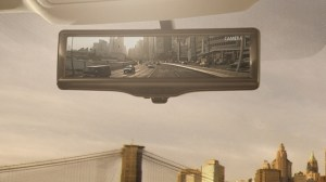 Nissan Motor Develops the Smart rearview mirror