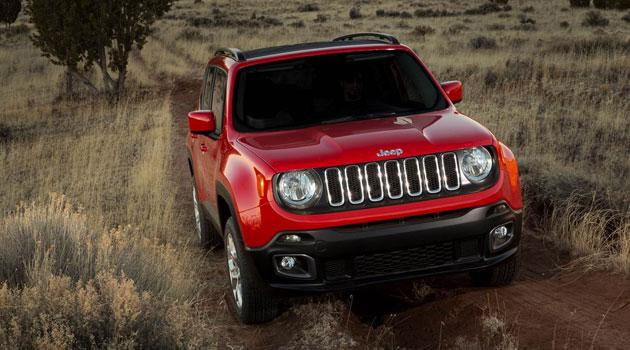 Jeep Renegade 2015 en el Salón de Nueva York