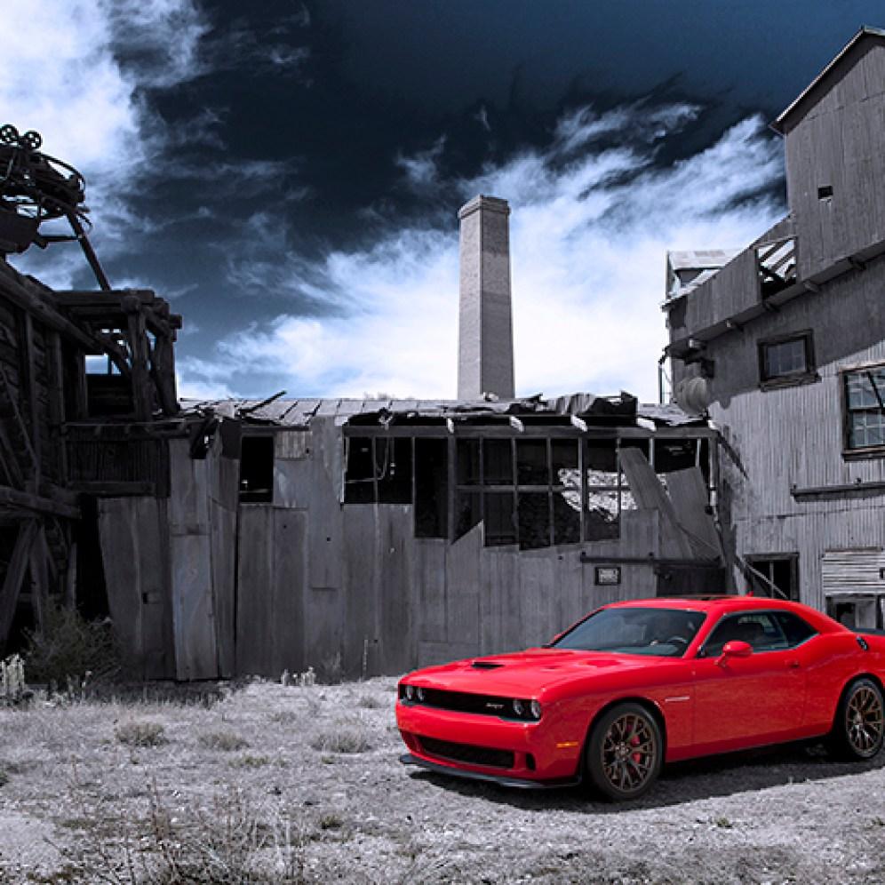 2015 Dodge Challenger SRT with the HEMI® Hellcat
