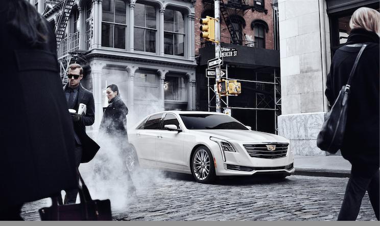 Cadillac se acelera en Nueva York