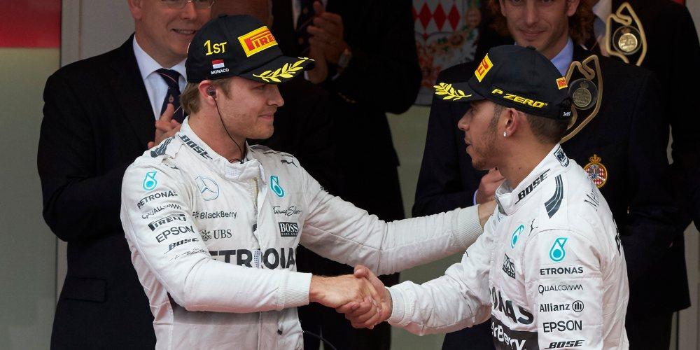 Rosberg consigue su tercera victoria consecutiva en Mónaco