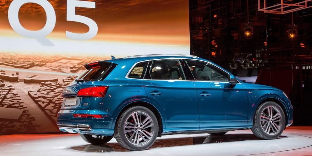 Audi Q5 lanzamiento mundial en parís. Hecho en México.
