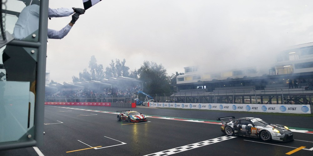 México los llena de suerte: el 911 RSR conquista su primera victoria