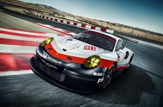 Auto Show de Los Ángeles: Porsche 911 RSR de cara a Le Mans