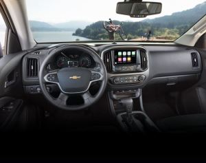 Chevrolet Colorado 2017 interior
