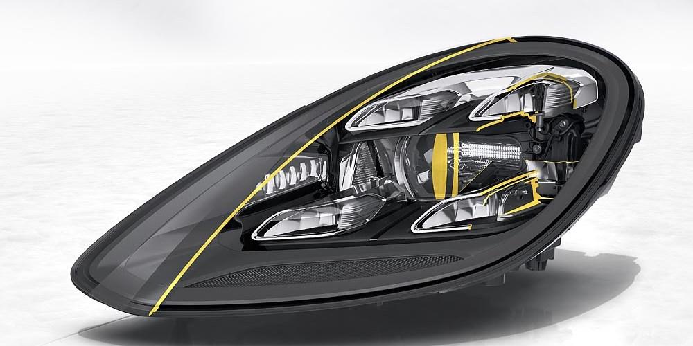 Porsche, ver más, deslumbrar menos: Matrix LED