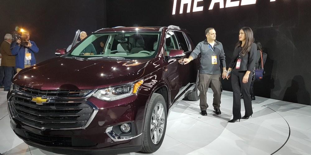 Auto Show Detroit 2017, Chevrolet Traverse 2018
